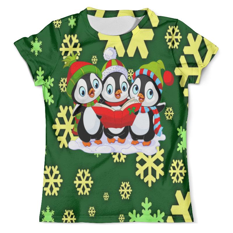 Футболка с полной запечаткой (мужская) Printio Пингвины футболка с полной запечаткой для мальчиков printio пингвины
