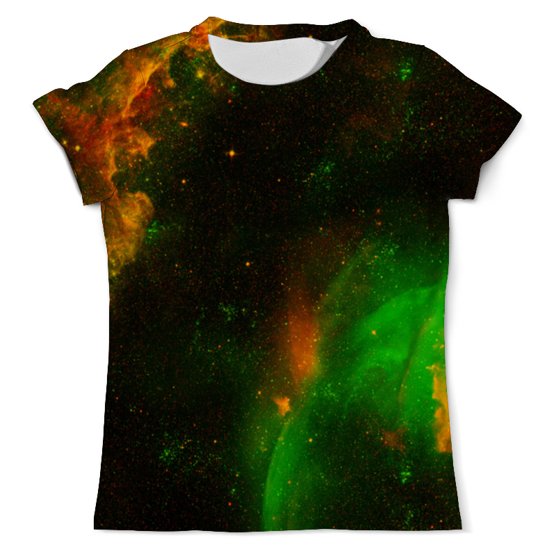 Футболка с полной запечаткой (мужская) Printio Вселенная футболка с полной запечаткой мужская printio карта мира вселенная