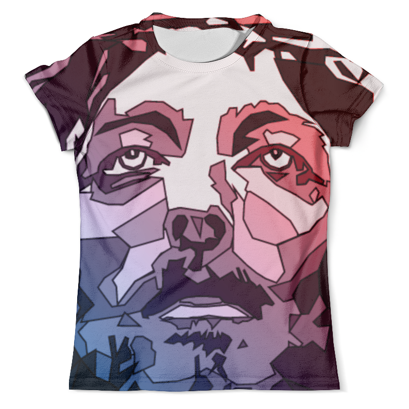 Футболка с полной запечаткой (мужская) Printio Иисус христос футболка с полной запечаткой для мальчиков printio иисус христос