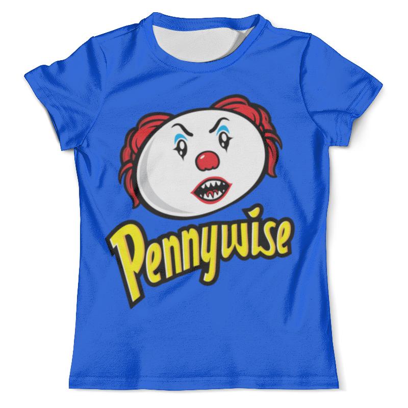 Футболка с полной запечаткой (мужская) Printio Pennywise футболка с полной запечаткой мужская printio pennywise 1