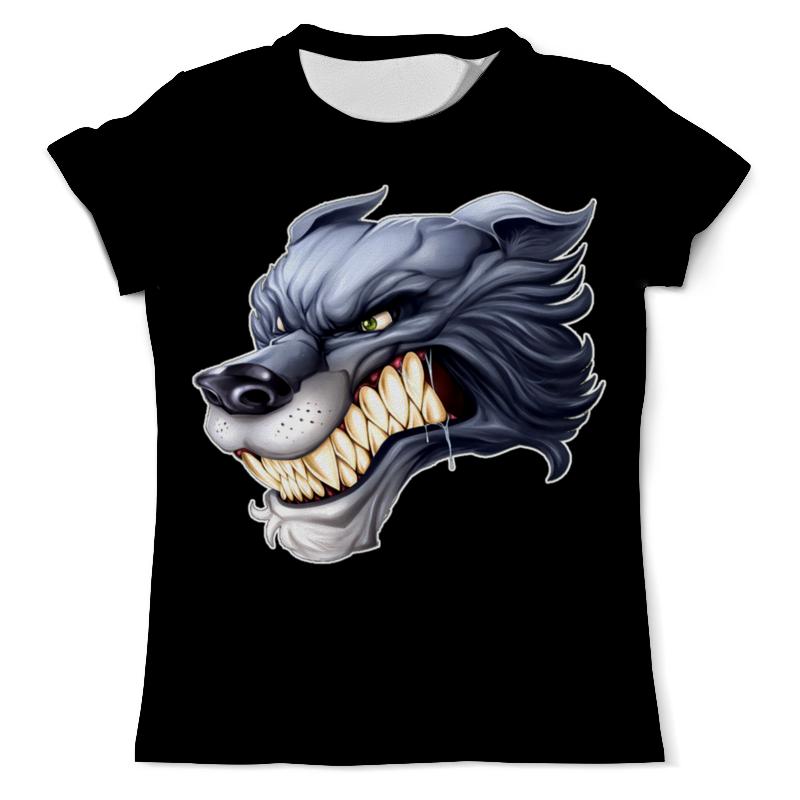 Футболка с полной запечаткой (мужская) Printio Волк футболка с полной запечаткой мужская printio красная шапочка и серый волк 3