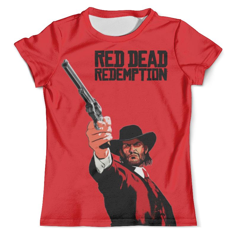 Футболка с полной запечаткой (мужская) Printio Red dead redemption game свитшот print bar red dead redemption simsons style