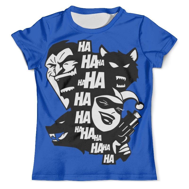 Футболка с полной запечаткой (мужская) Printio Джокер и харли квинн (бэтмен) футболка с полной запечаткой мужская printio джокер и харли квин