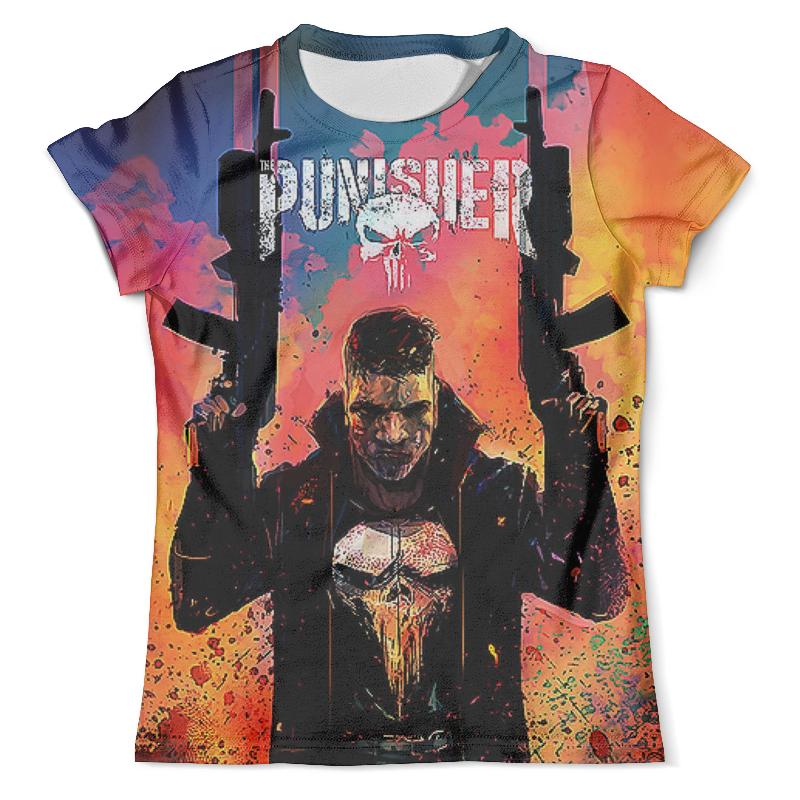 Printio The punisher design_ футболка с полной запечаткой мужская printio punisher of the future terminator