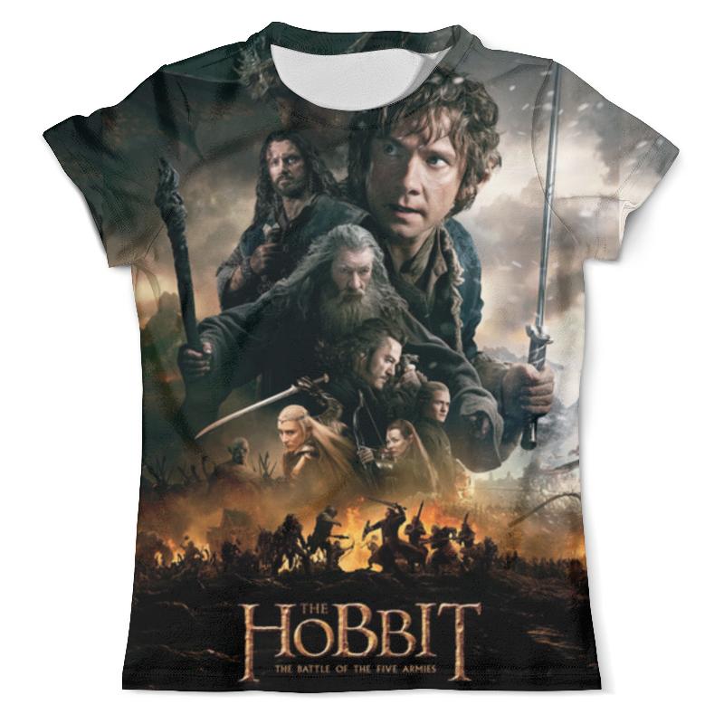 Printio Хоббит. hobbit. красивые фильмы футболка с полной запечаткой для мальчиков printio hobbit