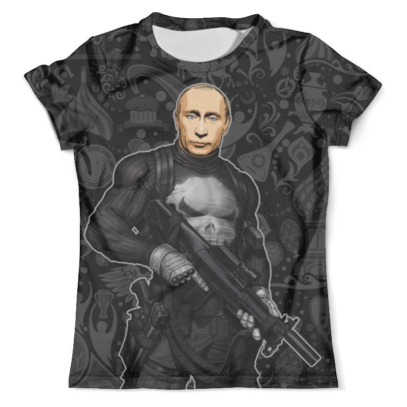 Футболка с полной запечаткой (мужская) Printio Putisher (putin) футболка с полной запечаткой мужская printio iron putin design