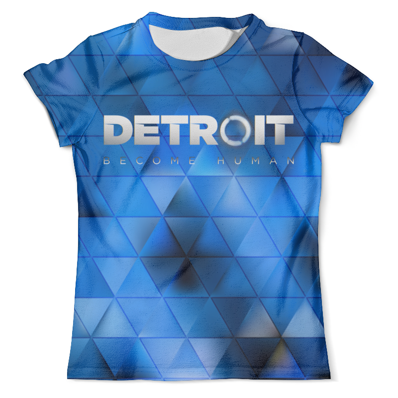 Футболка с полной запечаткой (мужская) Printio Detroit: become human eurofit detroit iwm