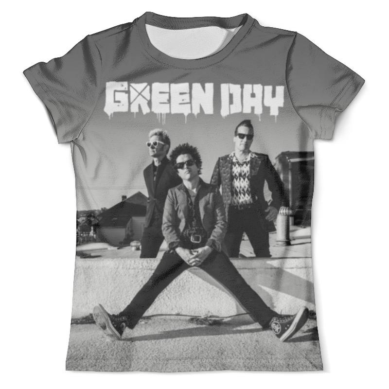 Футболка с полной запечаткой (мужская) Printio Green day футболка с полной запечаткой мужская printio green day