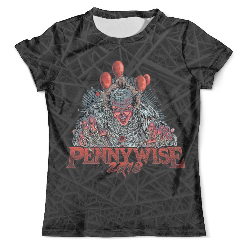 Футболка с полной запечаткой (мужская) Printio Pennywise 2018 футболка с полной запечаткой мужская printio pennywise 1