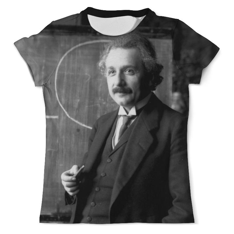 Футболка с полной запечаткой (мужская) Printio Эйнштейн рюкзак с полной запечаткой printio эйнштейн