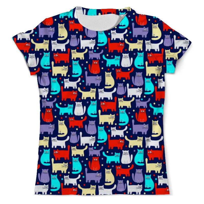 Printio Кошки футболка с полной запечаткой мужская printio взгляд черной кошки