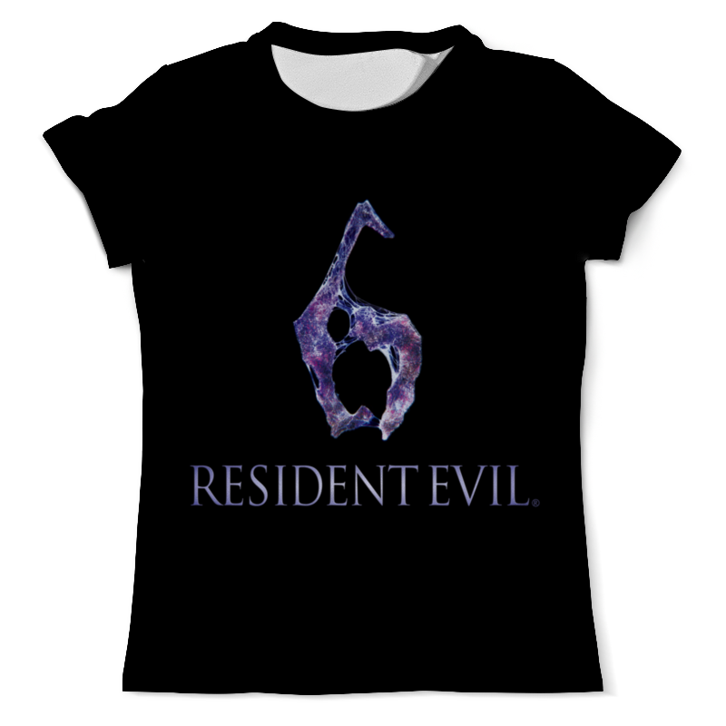 Футболка с полной запечаткой (мужская) Printio Resident evil 6