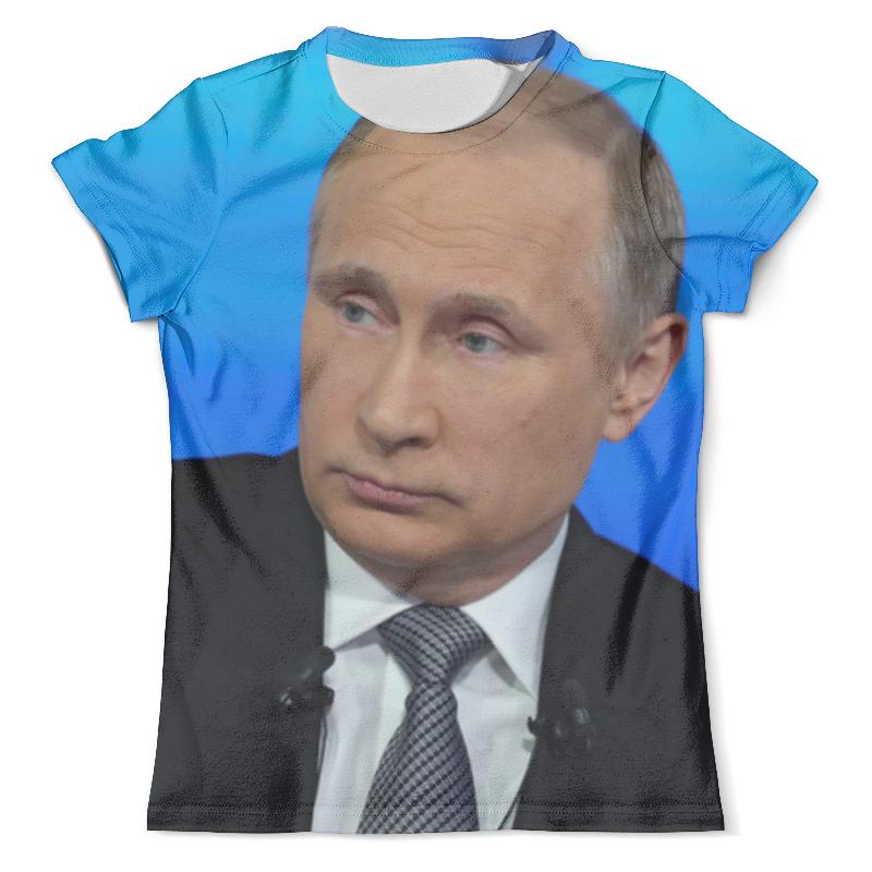 Футболка с полной запечаткой (мужская) Printio Владимир путин футболка с полной запечаткой мужская printio путин casual collection