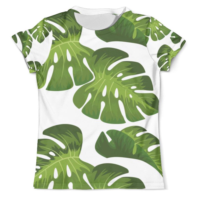 Printio Листья 1 футболка с полной запечаткой мужская printio westernskull 1