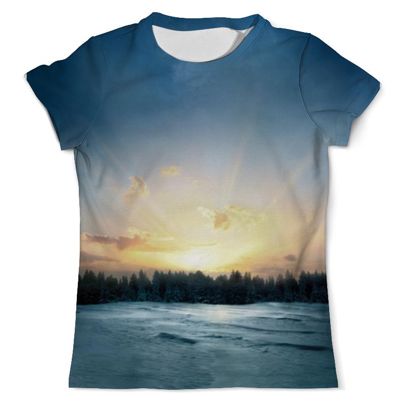 Футболка с полной запечаткой (мужская) Printio Сумерки футболка print bar сумерки рассвет