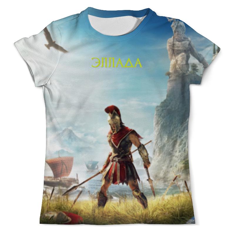 Printio Эллада футболка с полной запечаткой мужская printio денис 01