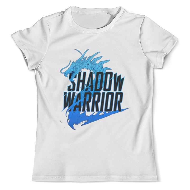 все цены на Футболка с полной запечаткой (мужская) Printio Shadow warrior