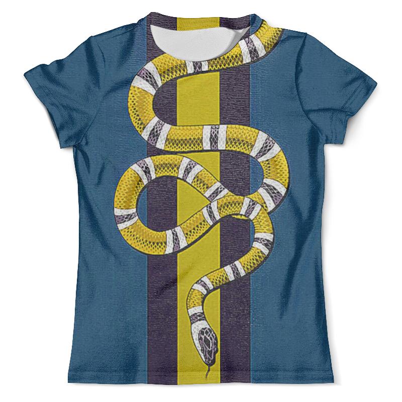 Футболка с полной запечаткой (мужская) Printio Snake design