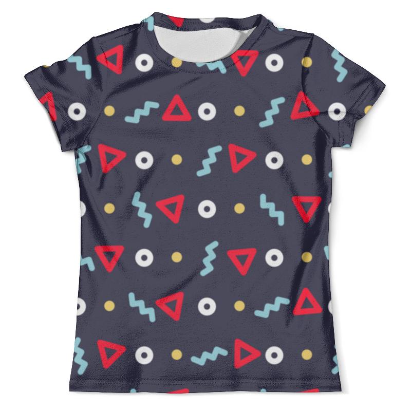 Футболка с полной запечаткой (мужская) Printio Pattern футболка с полной запечаткой женская printio nano pattern