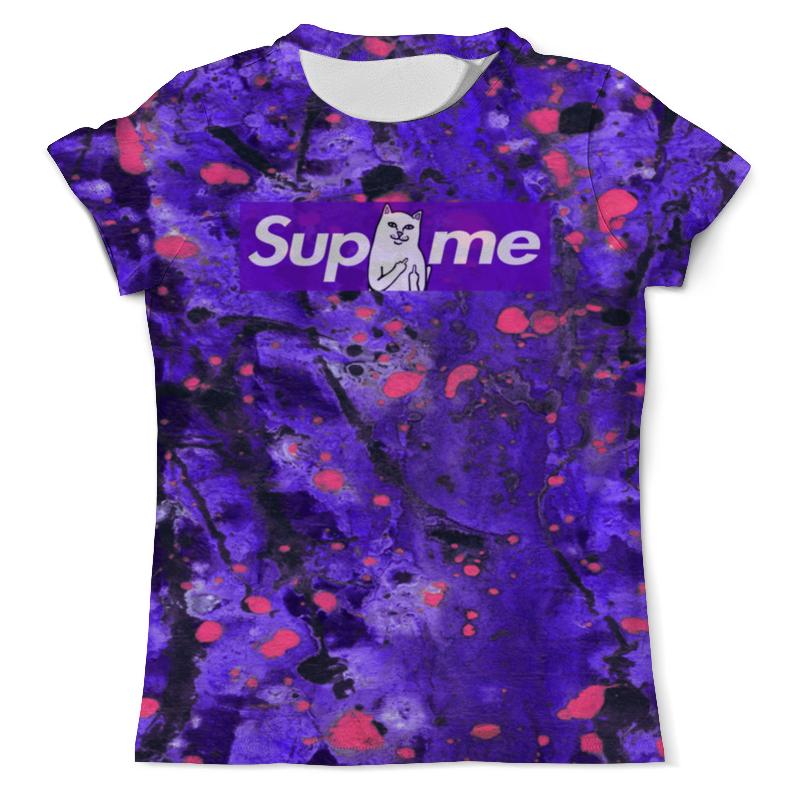 Футболка с полной запечаткой (мужская) Printio Supreme краски футболка мужская supreme ny yankees supreme box tee