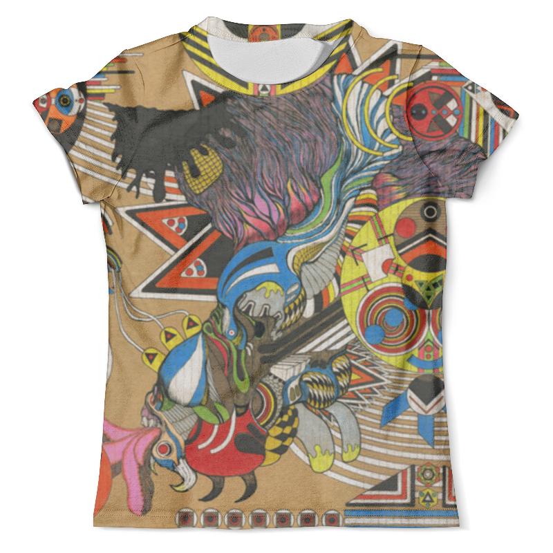 Футболка с полной запечаткой (мужская) Printio Psychedelic футболка flip psychedelic black