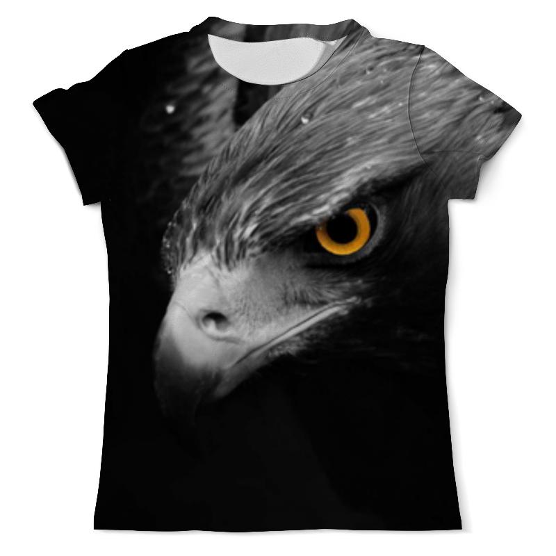 Футболка с полной запечаткой (мужская) Printio Орлиный взгляд футболка с полной запечаткой мужская printio русь чёрно белая душа