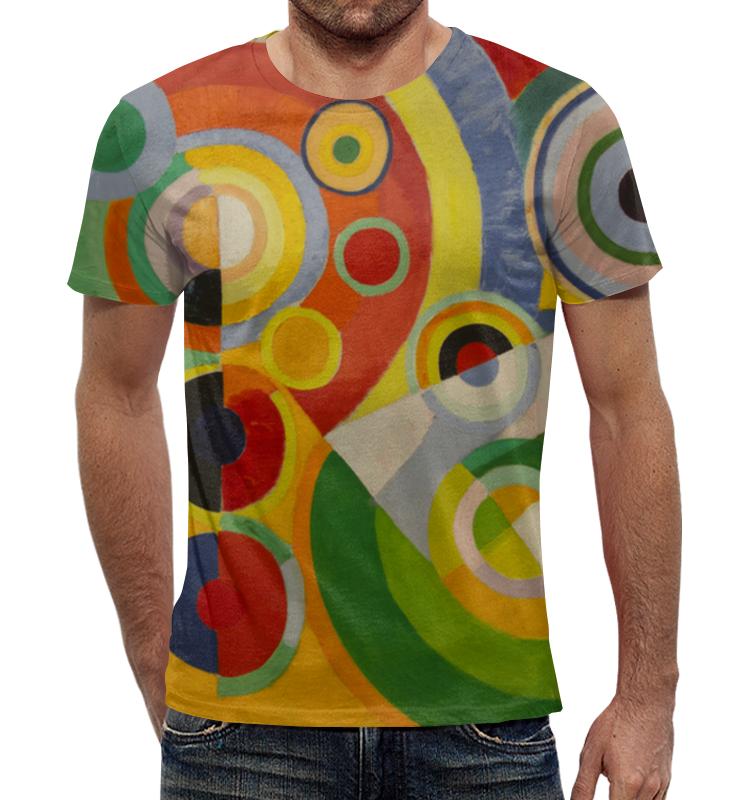 Футболка с полной запечаткой Printio Ритм, радость жизни (картина делоне) николай делоне квантовая природа вещества