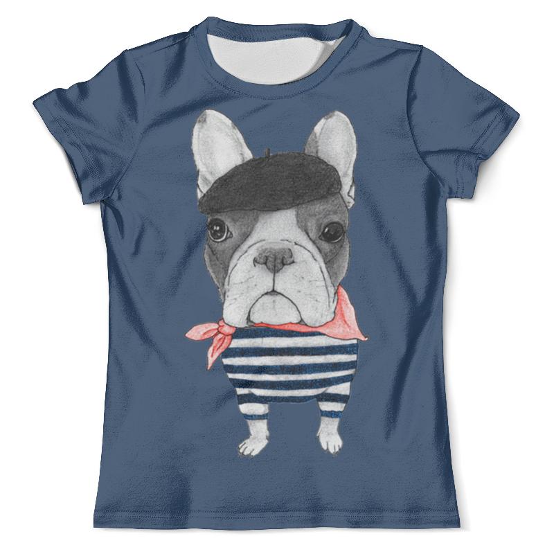 Футболка с полной запечаткой (мужская) Printio Хипстер (1) футболка с полной запечаткой для девочек printio хипстер пес