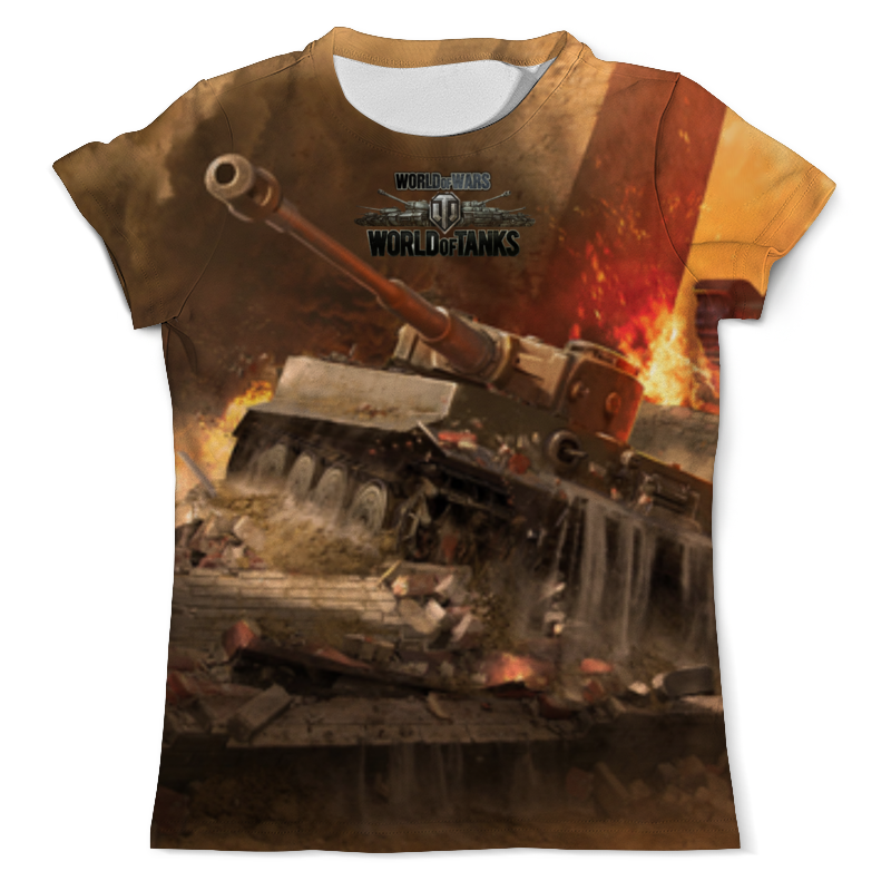 Футболка с полной запечаткой (мужская) Printio World of tanks игра настольная мир хобби world of tanks rush второй фронт
