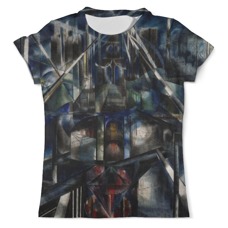 Футболка с полной запечаткой (мужская) Printio Бруклинский мост (джозеф стелла) футболка с полной запечаткой женская printio битва огней кони айленд джозеф стелла