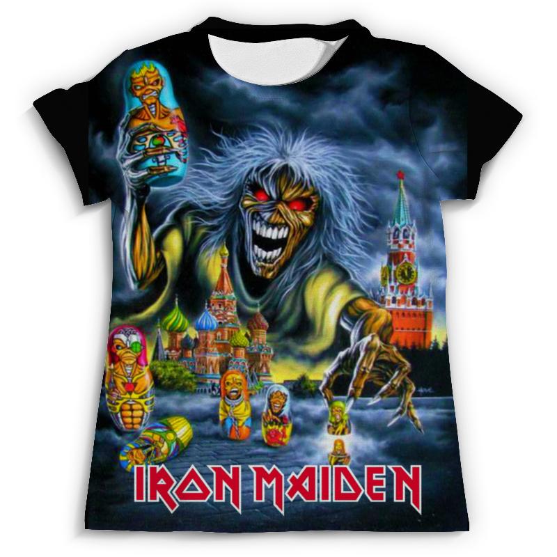Футболка с полной запечаткой (мужская) Printio Iron maiden band футболка с полной запечаткой мужская printio death on the road iron maiden 1
