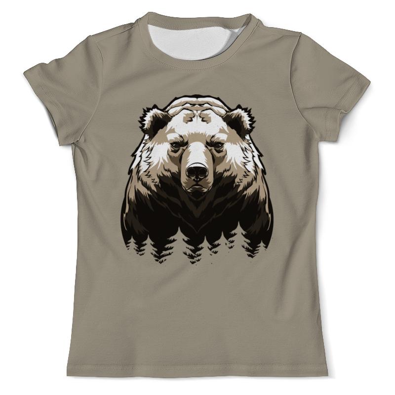 Printio Сибирский русский медведь футболка с полной запечаткой мужская printio о русском языке
