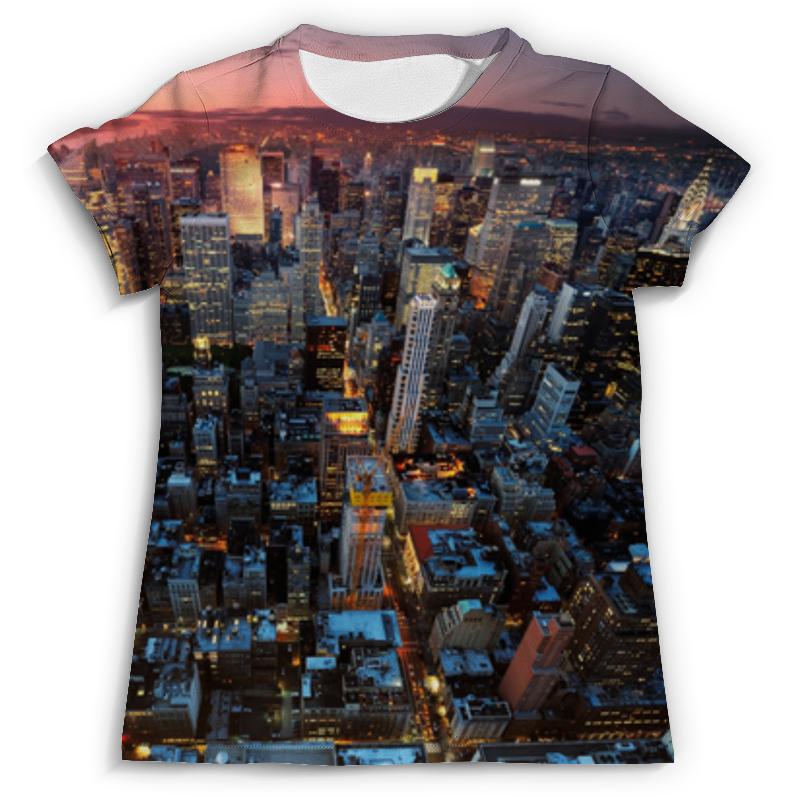 Футболка с полной запечаткой (мужская) Printio Нью-йорк футболка с полной запечаткой printio нью йорк никс