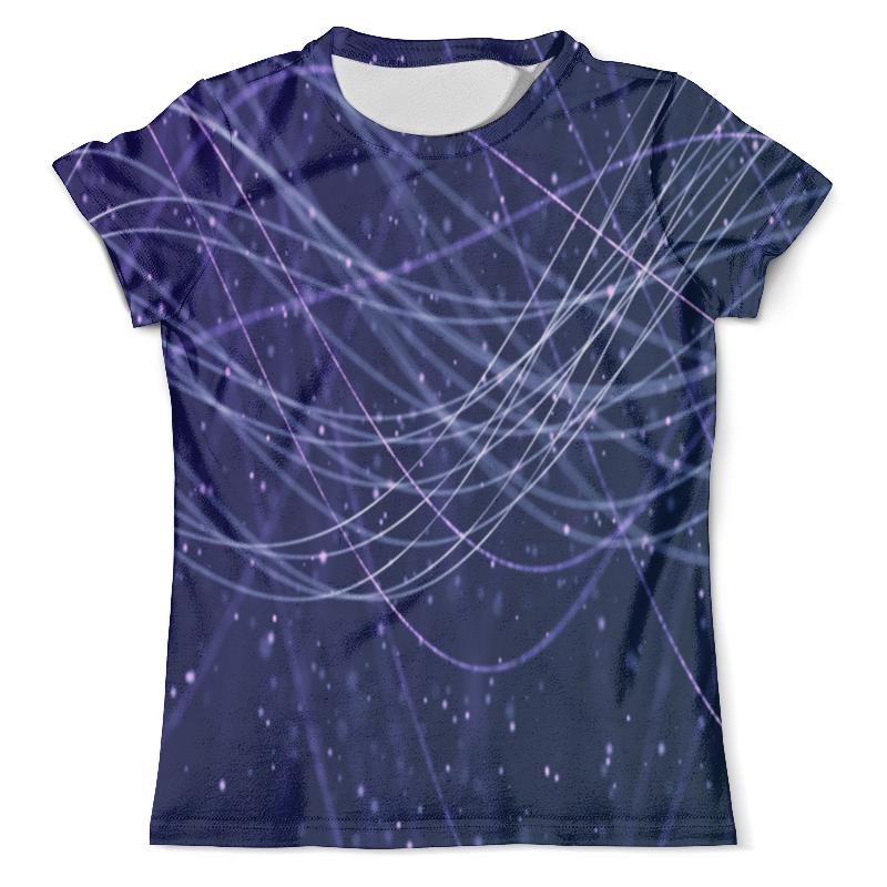 Футболка с полной запечаткой (мужская) Printio Узор линии футболка с полной запечаткой женская printio линии
