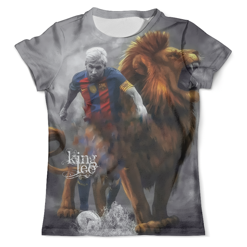 Футболка с полной запечаткой (мужская) Printio Lionel messi (1) фигурка argentina lionel messi