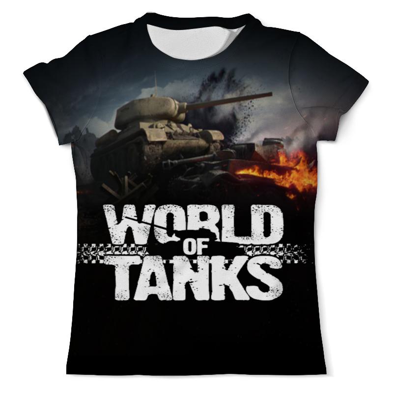 Футболка с полной запечаткой (мужская) Printio World of tanks борцовка с полной запечаткой printio world of tanks