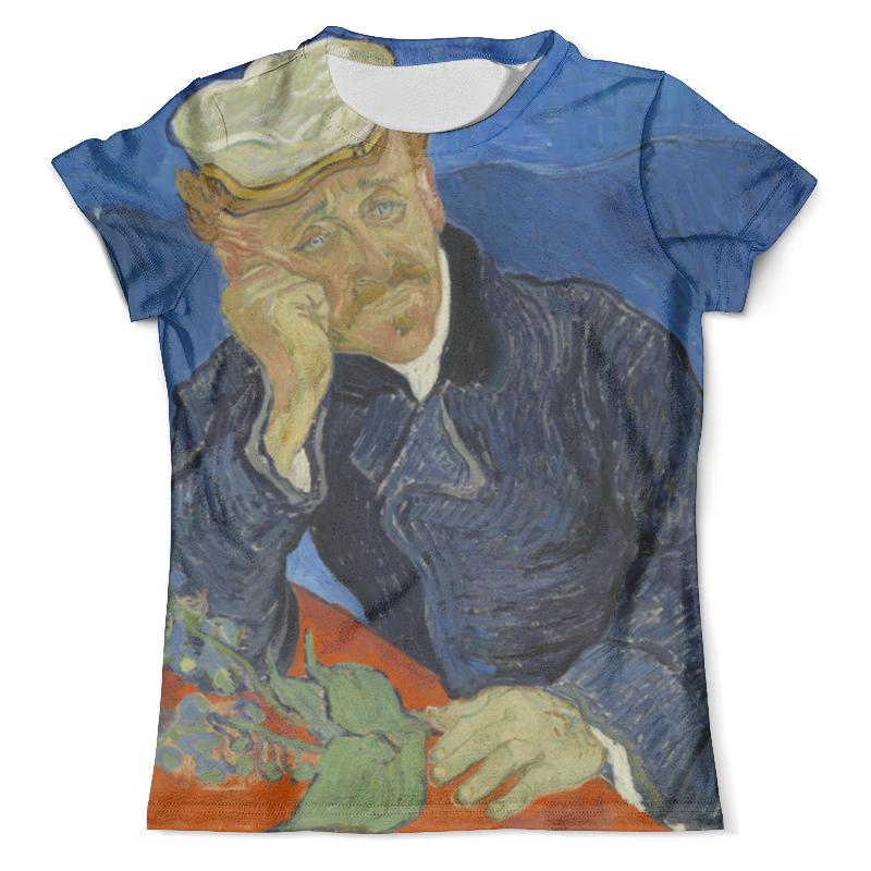 Футболка с полной запечаткой (мужская) Printio Портрет доктора гаше (винсент ван гог) рюкзак с полной запечаткой printio портрет четы арнольфини ян ван эйк