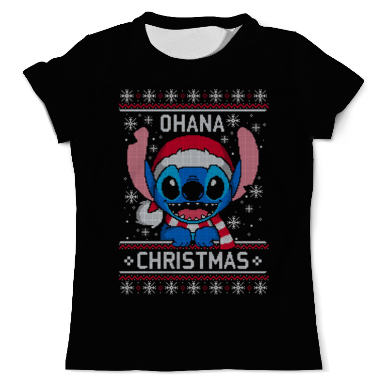 Футболка с полной запечаткой (мужская) Printio С рождеством! футболка с полной запечаткой женская printio с рождеством