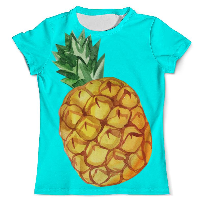 Футболка с полной запечаткой (мужская) Printio Ананас футболка с рисунком ананас 100