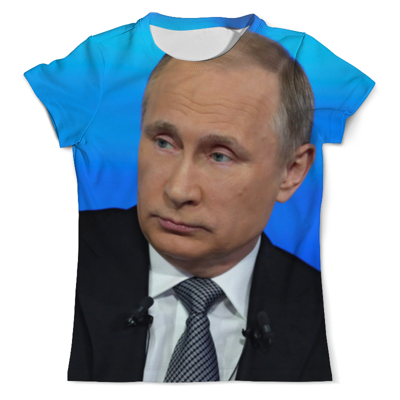 Футболка с полной запечаткой (мужская) Printio Владимир путин футболка с полной запечаткой мужская printio путин в в