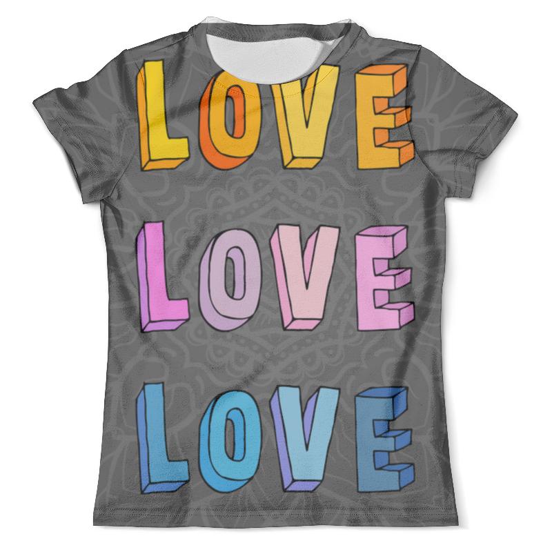 Футболка с полной запечаткой (мужская) Printio It's my love-love футболка с полной запечаткой мужская printio light my fire