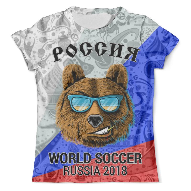 Футболка с полной запечаткой (мужская) Printio россия design_ футболка с полной запечаткой мужская printio россия царская
