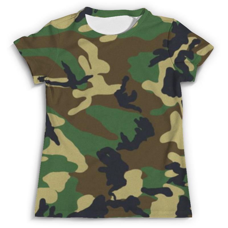 Футболка с полной запечаткой (мужская) Printio В стиле милитари в минске рубашку милитари
