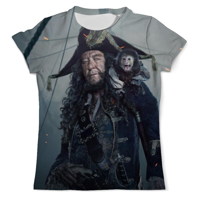 Футболка с полной запечаткой (мужская) Printio Пираты карибского моря футболка с полной запечаткой мужская printio пираты карибского моря