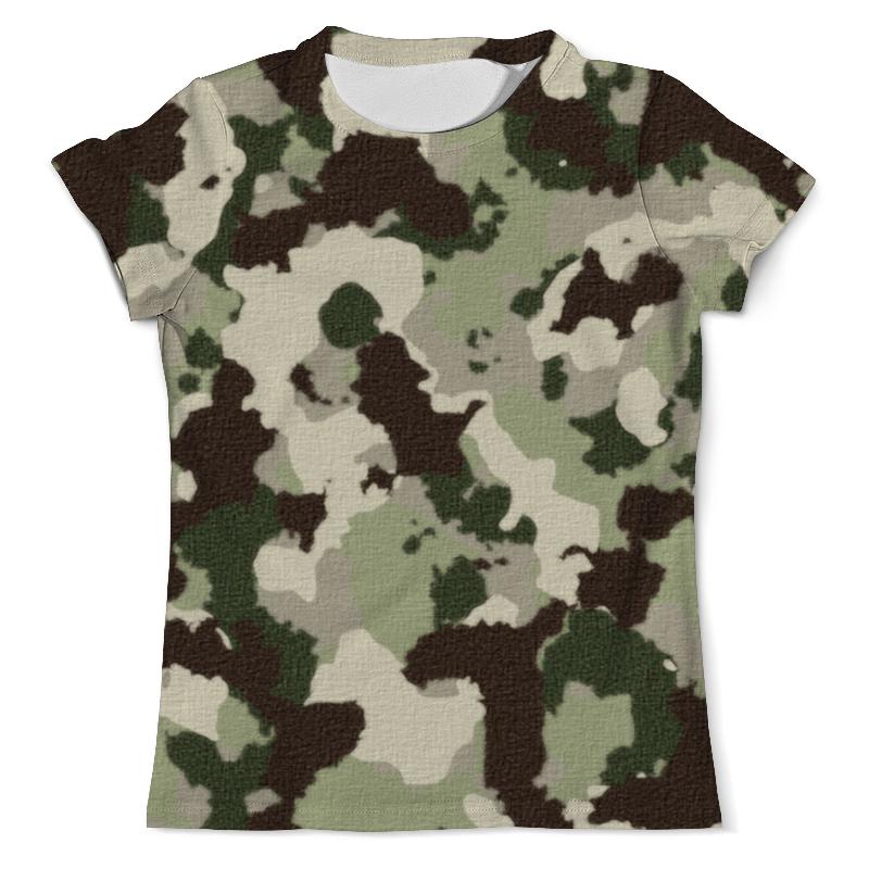 Printio Камуфляж (1) футболка с полной запечаткой мужская printio яркий камуфляж