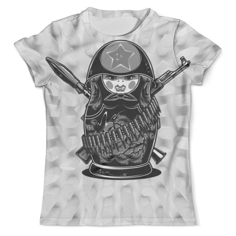 Футболка с полной запечаткой (мужская) Printio Matreshka (ссср) футболка с полной запечаткой мужская printio кгб ссср