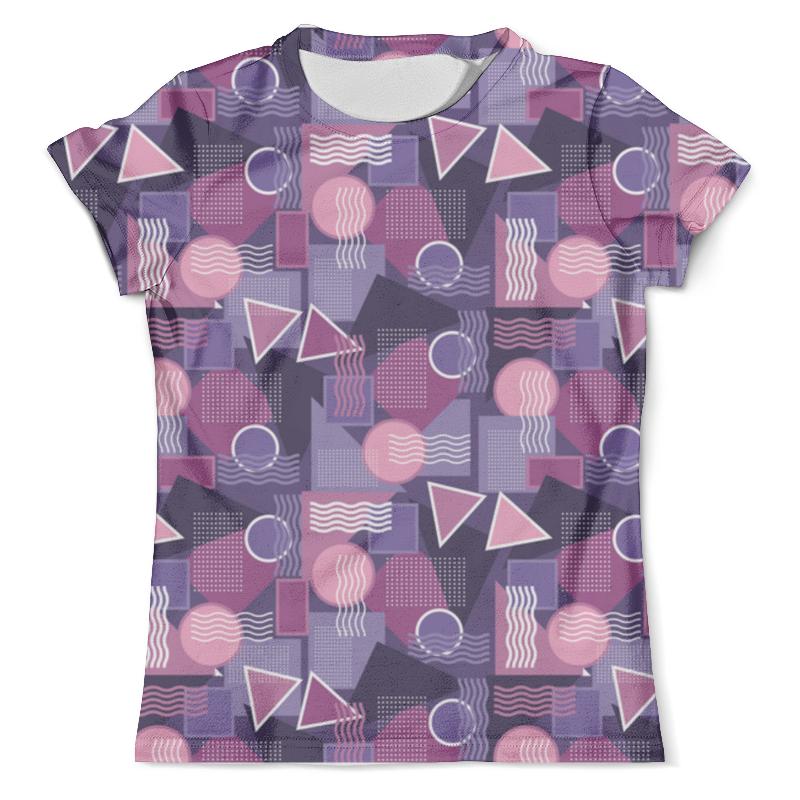 Футболка с полной запечаткой (мужская) Printio Геометрический узор футболка мужская bc 15 yt5817