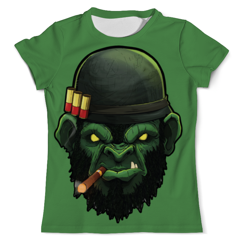 лучшая цена Printio War monkey/обезьяна