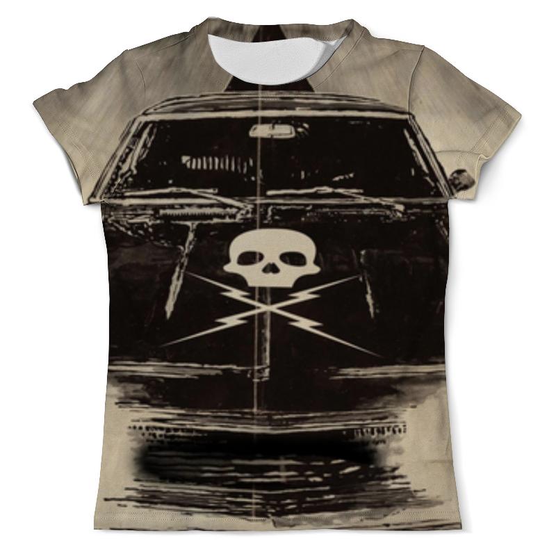 Футболка с полной запечаткой (мужская) Printio Доказательство смерти (death proof) футболка с полной запечаткой мужская printio солдаты смерти