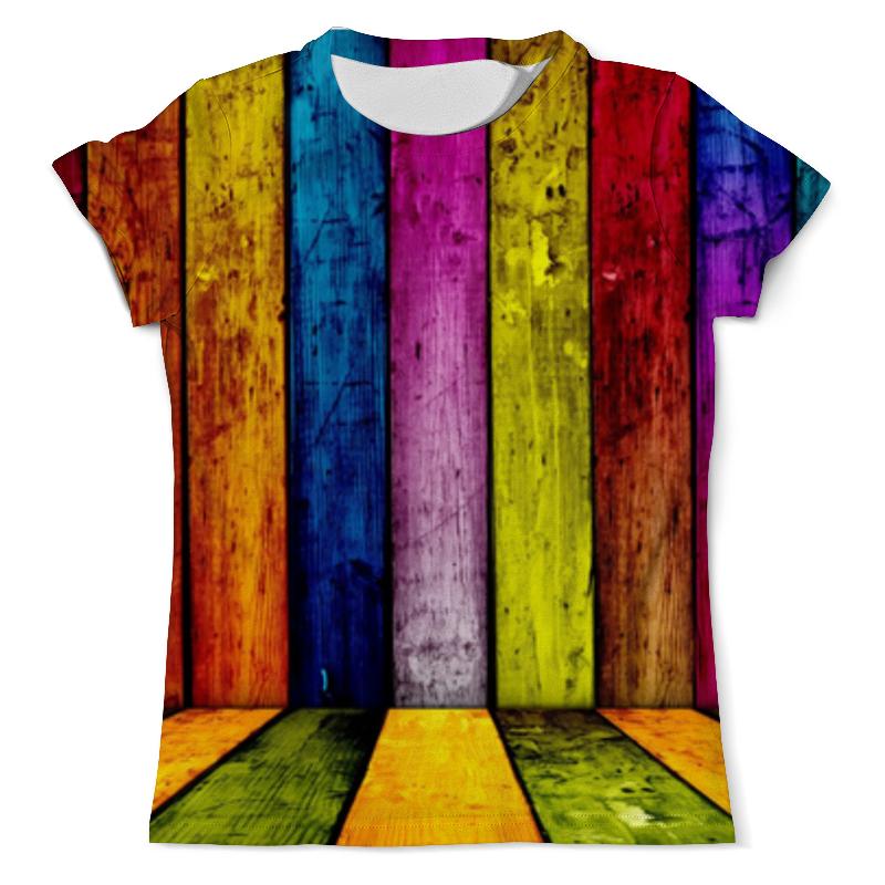 Футболка с полной запечаткой (мужская) Printio Радуга. цвета жизни футболка с полной запечаткой мужская printio радуга цвета жизни